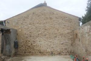 Rénovation pierres apparentes - Machecoul 2016