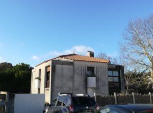 Réfection façade - Notre-Dame-De-Monts 2018